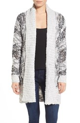 Women's Leith Wide Collar Open Cardigan