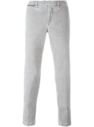 Eleventy Slim Fit Chinos Grey