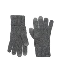 The Randle Glove Charcoal Wool Gloves Gray