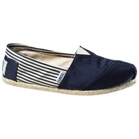 Toms University Classic Canvas Plimsolls Navy