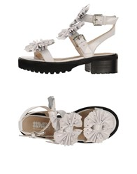 Chloe Sevigny For Opening Ceremony Footwear Sandals Women White