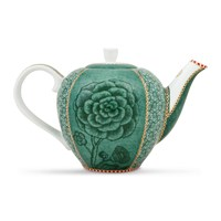 Pip Studio Spring To Life Teapot Green Small