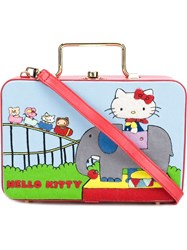Olympia Le Tan Hello Kitty 'Elephant' Lunchbox Tote Bag Red