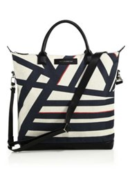 Want Les Essentiels Ohare Shopper Tote White Navy