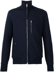 Rag And Bone Zipped Jacket Blue