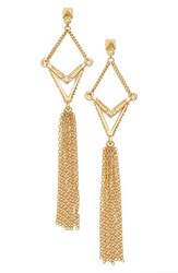 Women's Ettika Geometric Tassel Drop Earrings