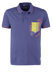 Desigual Polo Shirt Twilight Blue Dark Blue