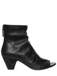Marsell 50Mm Leather Open Toe Boots