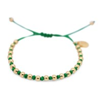 Gideon John Jewellery Yellow Gold Lux Green Knot