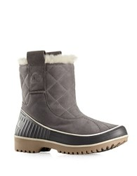 Sorel Tivoli Ii Quilted Leather Winter Boots Quarry