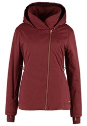 Bench To The Point Winter Jacket Dark Red