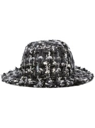 Dolce And Gabbana Boucle Hat Black