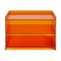Glas Italia Orange Medium Bookcase