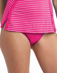 Robin Piccone Hipster Swim Bottom Pink