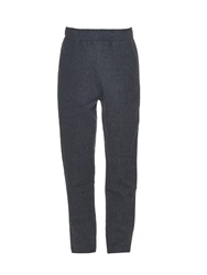 Tomas Maier Relaxed Leg Wool Trousers