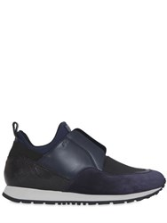 Tod's 20Mm Suede And Neoprene Slip On Sneakers