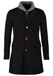Desigual Fernando Winter Coat Marino Dark Blue