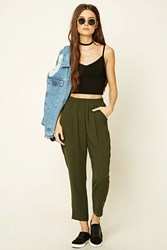 Forever 21 Pleated Woven Trousers