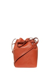 Mansur Gavriel Mini Bucket Bag Brown