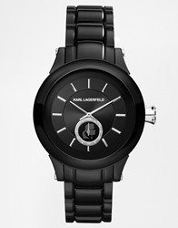 Karl Lagerfeld Chain Black Watch Kl1205