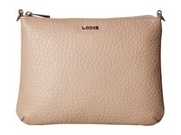 Lodis Borrego Emily Clutch Crossbody Taupe Cross Body Handbags