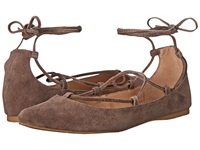 Steve Madden Eleanorr Taupe Suede Women's Flat Shoes