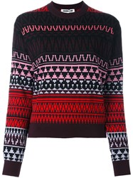 Mcq By Alexander Mcqueen Fair Isle Intarsia Jumper Multicolour