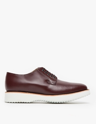Caminando Relaxed Sole Derby Shoe Wine