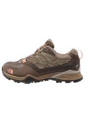 The North Face Hedgehog Hike Gtx Hiking Shoes Cub Brown Punch Orange