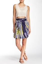 Kas Ikat Skirt Multi