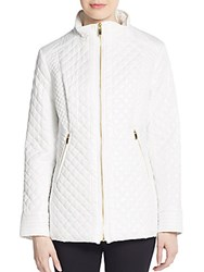 Via Spiga Quilted Jacket White