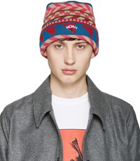 Noah Multicolor Fair Isle Beanie