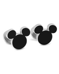 Cufflinks Inc. Mickey Mouse Silhouette Cuff Links