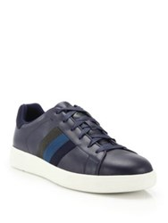 Paul Smith Lawn Galaxy Leather Low Top Sneakers