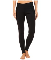 Hard Tail Ankle Zip Performance Pants Black Solid Women's Workout