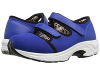 Drew Shoe Solo Royal Blue Sport Mesh Women's Hook And Loop Shoes