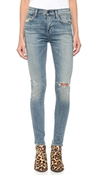 Citizens Of Humanity Rocket High Rise Skinny Jeans Stage Coach