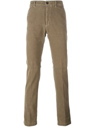 Massimo Alba 'Winch' Trousers Nude And Neutrals