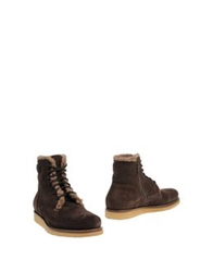 Alexander Hotto Ankle Boots Dark Brown