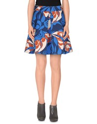 Twenty Easy By Kaos Skirts Mini Skirts Women Blue