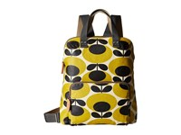 Orla Kiely Backpack Tote Mustard Backpack Bags Yellow