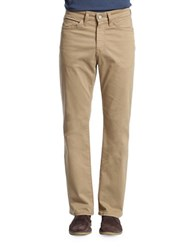 Heritage Charisma Classic Fit Chinos Beige Khaki