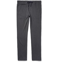 James Perse Loopback Supima Cotton Jersey Sweatpants Dark Gray