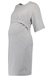 Boob Uma Summer Dress Grey Melange Mottled Grey