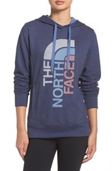 The North Face Women's 'Trivert Logo' Hoodie Cosmic Blue Fjord Blue