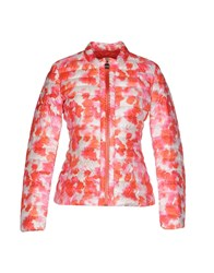 Add Coats And Jackets Down Jackets Women Coral