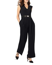 Phase Eight Adelaide Belted Jumpsuit Black
