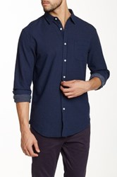 Globe Austin Polka Dot Shirt Blue