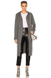 Theperfext Blondie Long Tie Sweater In Gray