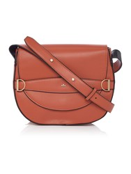 Nica Mila Orange Cross Body Bag Orange
